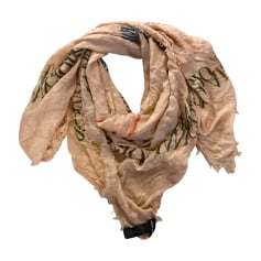 Silk Scarf GIORGIO ARMANI Beige, camel