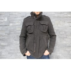 Manteau ABERCROMBIE & FITCH Gris, anthracite