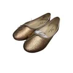 Ballerines ANNIEL Doré, bronze, cuivre