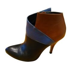 Bottines & low boots à talons SAN MARINA Noir, bleu, marron