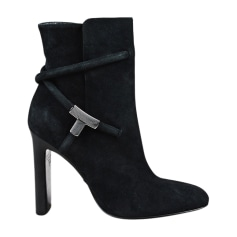 High Heel Ankle Boots TOM FORD Black