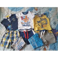 Shorts Set, Outfit PRIMIGI Blue, navy, turquoise