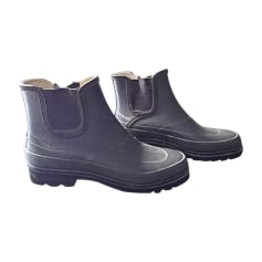 Bottines & low boots plates RALPH LAUREN Noir
