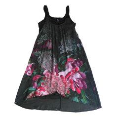 Midi-Kleid DESIGUAL Schwarz