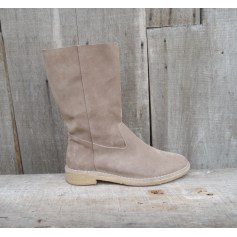 Bottines & low boots plates ATELIER VOISIN Beige, camel