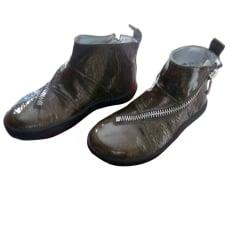 Chaussures Fille Vert de marque   luxe pas cher - Videdressing 4bcc8b19d347