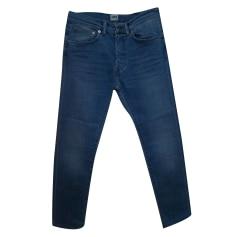Jeans slim EDWIN Blu, blu navy, turchese