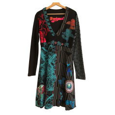 Robe longue DESIGUAL Noir