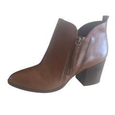 Bottines & low boots à talons SAN MARINA Beige, camel