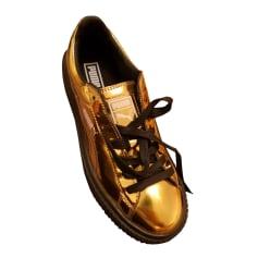 Sneakers PUMA Golden, bronze, copper