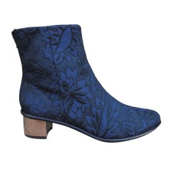 High Heel Ankle Boots TIBI Blue, navy, turquoise
