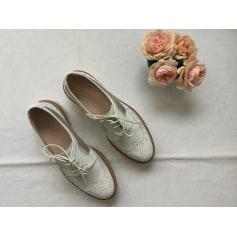 Chaussures à lacets  PERTINI Blanc, blanc cassé, écru