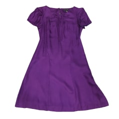 Robe mi-longue BANANA REPUBLIC Violet, mauve, lavande