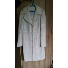 Manteau ANDREW GN Blanc, blanc cassé, écru