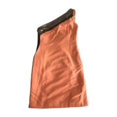 Robe courte VERSACE Orange