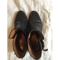 Bottines & low boots motards ANTHOLOGY PARIS Noir