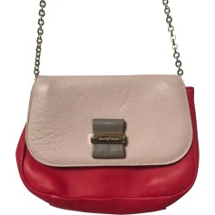 Leather Shoulder Bag SEE BY CHLOE Pink, fuchsia, light pink