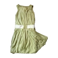 Robe courte ALBERTA FERRETTI Vert