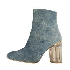 Bottines & low boots à talons ASOS Bleu, bleu marine, bleu turquoise
