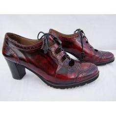 Chaussures à lacets  PERTINI Rouge, bordeaux