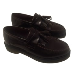 Mocassins DR. MARTENS Rouge, bordeaux