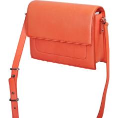 Schultertasche Leder BARBARA BUI Orange