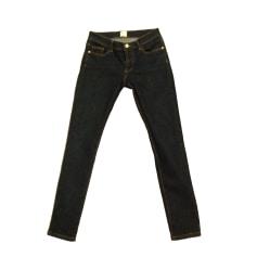 Jeans slim DES PETITS HAUTS Bleu, bleu marine, bleu turquoise
