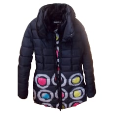 Down Jacket DESIGUAL Black