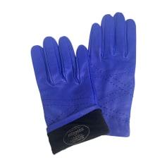 Gants HERMÈS Bleu, bleu marine, bleu turquoise