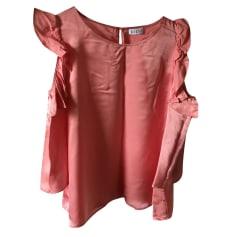 Top, T-shirt CLAUDIE PIERLOT Pink, fuchsia, light pink
