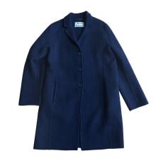 Manteau ACNE Bleu, bleu marine, bleu turquoise