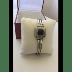 Armband JEAN DELATOUR Silberfarben, stahlfarben