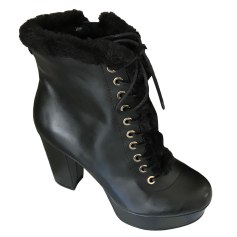 Wedge Ankle Boots GUESS Black