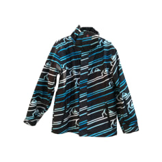 Zipped Jacket QUIKSILVER Blue, navy, turquoise