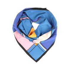 Foulard BECKSONDERGAARD Bleu, bleu marine, bleu turquoise ea2dfcf9ed4