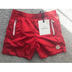 Swim Shorts MONCLER Red, burgundy