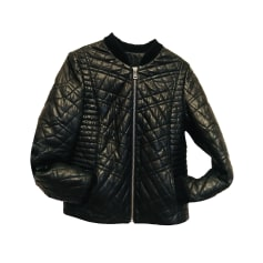 Leather Zipped Jacket ZADIG & VOLTAIRE Black