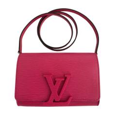 Handtasche Leder LOUIS VUITTON Pink,  altrosa