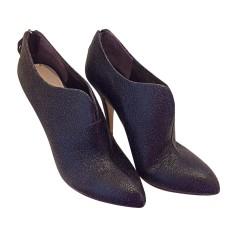 High Heel Ankle Boots MIU MIU Black