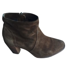 Bottines & low boots à talons N.D.C. MADE BY HAND Fauve