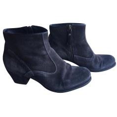 Bottines & low boots à talons PAUL SMITH Gris, anthracite