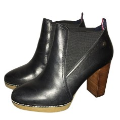 High Heel Ankle Boots TOMMY HILFIGER Black