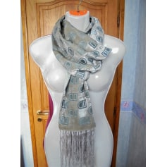 Scarf DELVAUX Gray, charcoal