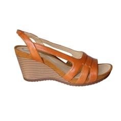 Sandales compensées Geox Femme   articles tendance - Videdressing 40901b4b5236