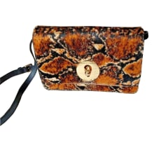 Leather Shoulder Bag TARA JARMON Animal prints