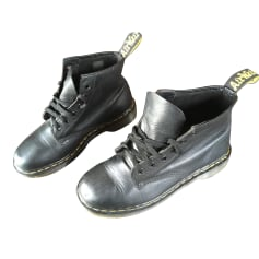Bottines & low boots plates DR. MARTENS Noir