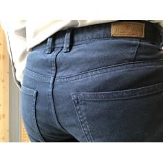Jeans droit MASSIMO DUTTI Bleu, bleu marine, bleu turquoise