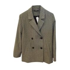 Monoprix veste cuir femme