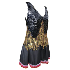 Mini Dress MANOUSH Black