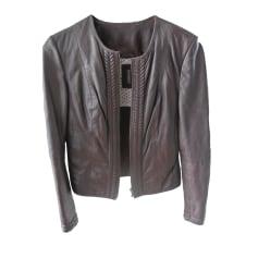 589d82402447 Vestes en cuir Naf Naf Femme   articles tendance - Videdressing
